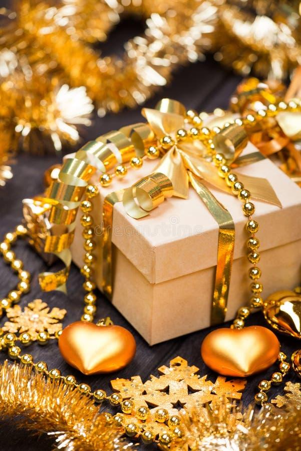 Κιβώτια δώρων Χριστουγέννων στοκ φωτογραφία