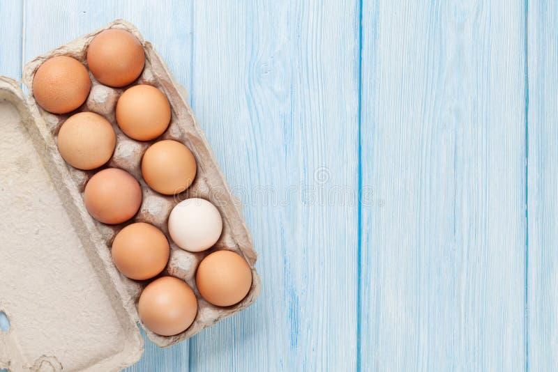 Κιβώτιο αυγών χαρτονιού στοκ εικόνες με δικαίωμα ελεύθερης χρήσης