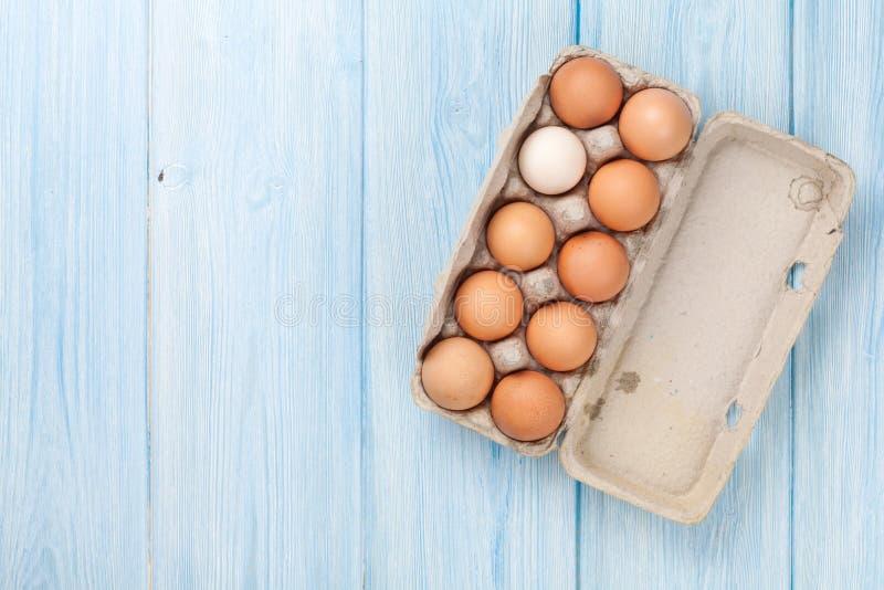 Κιβώτιο αυγών χαρτονιού στοκ φωτογραφίες