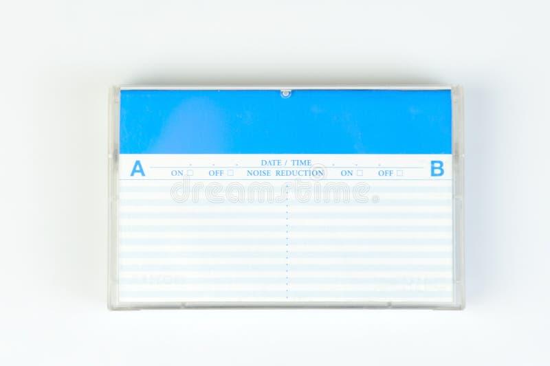 Κιβώτιο για την ακουστική κασέτα στοκ εικόνες με δικαίωμα ελεύθερης χρήσης