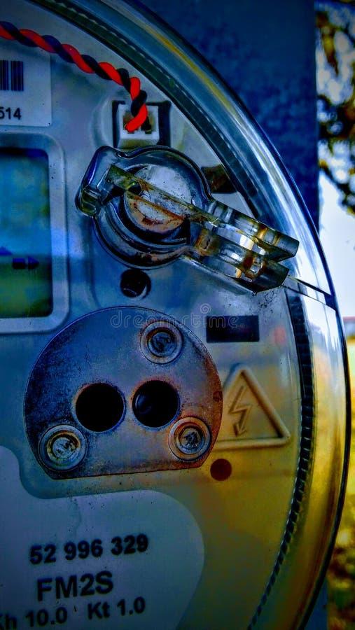 κιβώτιο ηλεκτρικό στοκ εικόνα
