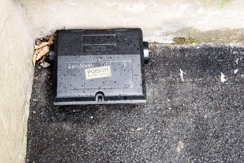 Κιβώτιο δηλητήριων δολώματος Rait στοκ εικόνες με δικαίωμα ελεύθερης χρήσης