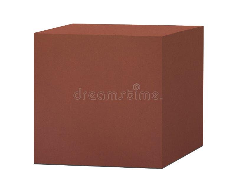 Download Κιβώτιο καφετιού εγγράφου που απομονώνεται Στοκ Εικόνες - εικόνα από πακέτο, ανασκόπησης: 62724864