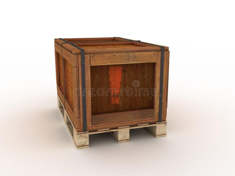 κιβώτιο ξύλινο ελεύθερη απεικόνιση δικαιώματος