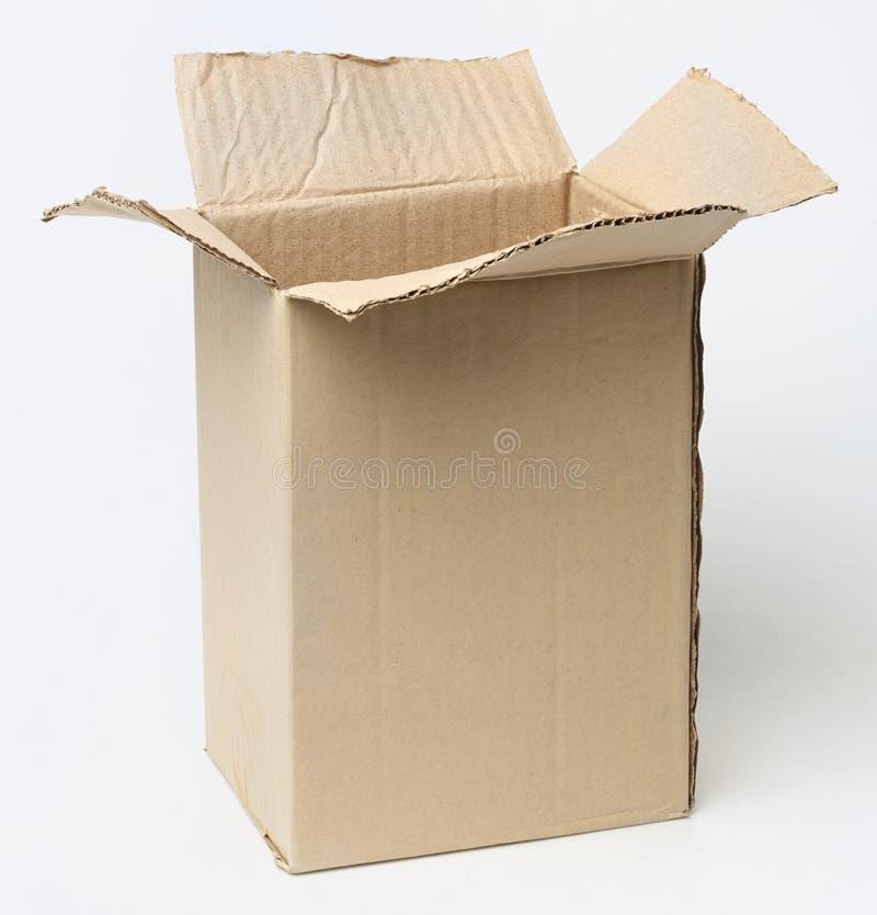 Κιβώτιο χαρτοκιβωτίων στοκ φωτογραφία με δικαίωμα ελεύθερης χρήσης
