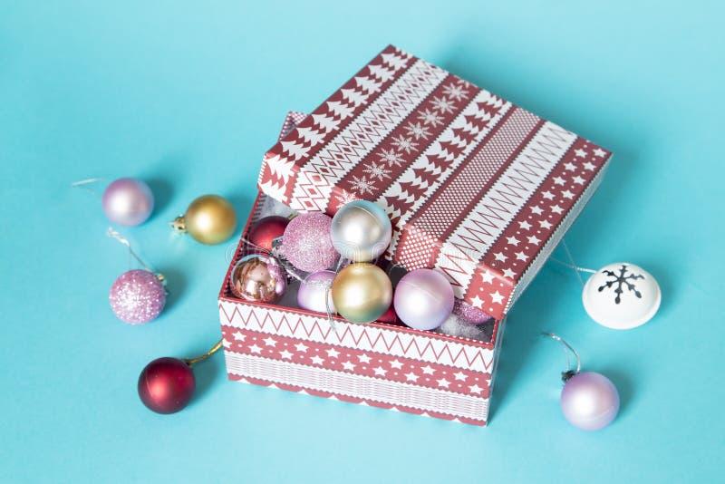 Κιβώτιο Χριστουγέννων στοκ εικόνες