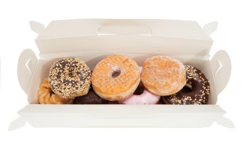 Κιβώτιο Donuts στοκ εικόνα