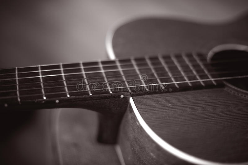 κιθάρα αναδρομική στοκ εικόνες με δικαίωμα ελεύθερης χρήσης