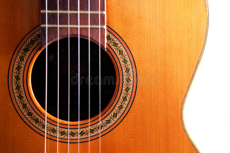 κιθάρα ισπανικά στοκ εικόνες