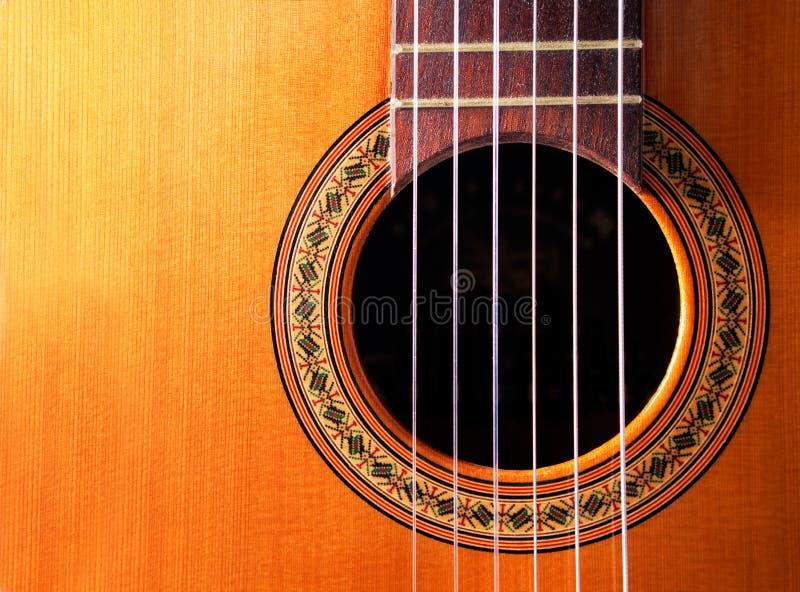 κιθάρα ισπανικά στοκ εικόνα με δικαίωμα ελεύθερης χρήσης