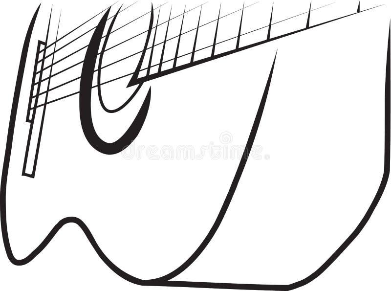 κιθάρα 2 στοκ εικόνα