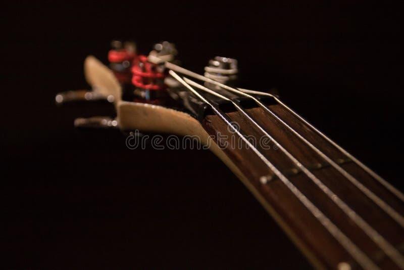 Κιθάρα Fretboard στοκ φωτογραφία