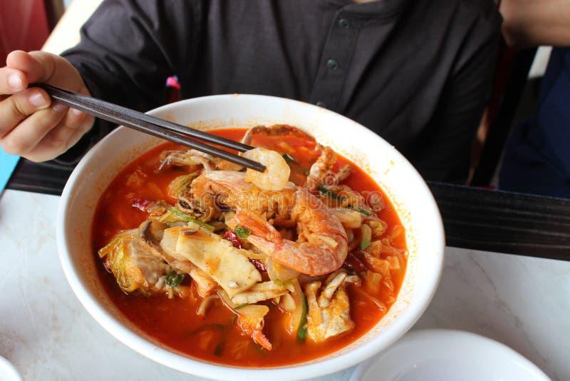 Κινέζικο ταξιδιωτικό φαγητό στοκ φωτογραφίες με δικαίωμα ελεύθερης χρήσης