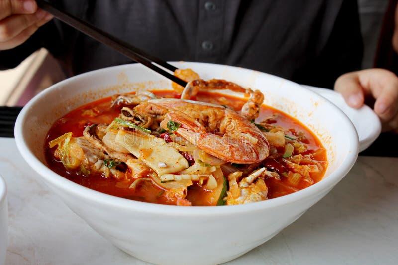 Κινέζικο ταξιδιωτικό φαγητό στοκ φωτογραφία με δικαίωμα ελεύθερης χρήσης