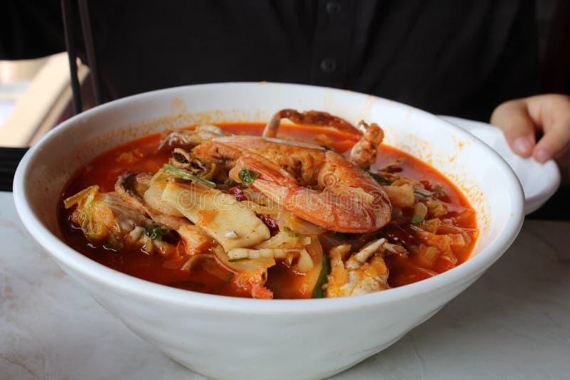 Κινέζικο ταξιδιωτικό φαγητό στοκ εικόνες