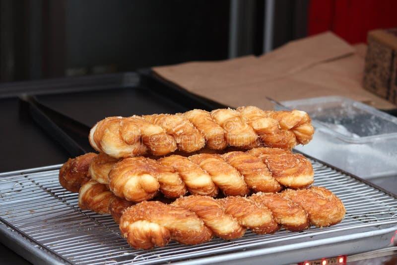 Κινέζικο ψωμί ταξιδεύει φαγητό στοκ εικόνες