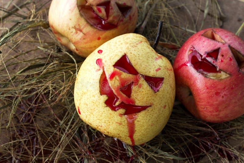 Κινεζικά αχλάδι και μήλο για αποκριές στοκ εικόνες με δικαίωμα ελεύθερης χρήσης