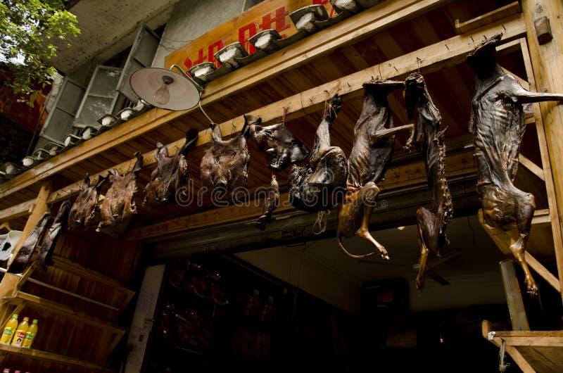 Κινεζικά τρόφιμα σε Fenghuang (2) στοκ εικόνες με δικαίωμα ελεύθερης χρήσης