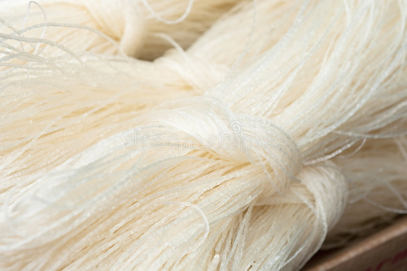 Κινεζικά noodles ρυζιού στοκ φωτογραφίες με δικαίωμα ελεύθερης χρήσης