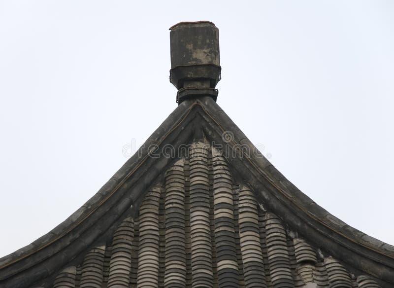 Κινεζική αρχιτεκτονική στοκ εικόνα