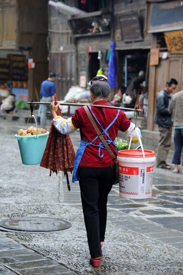 κινεζική γυναίκα υπηκοότητας miao στοκ εικόνες με δικαίωμα ελεύθερης χρήσης