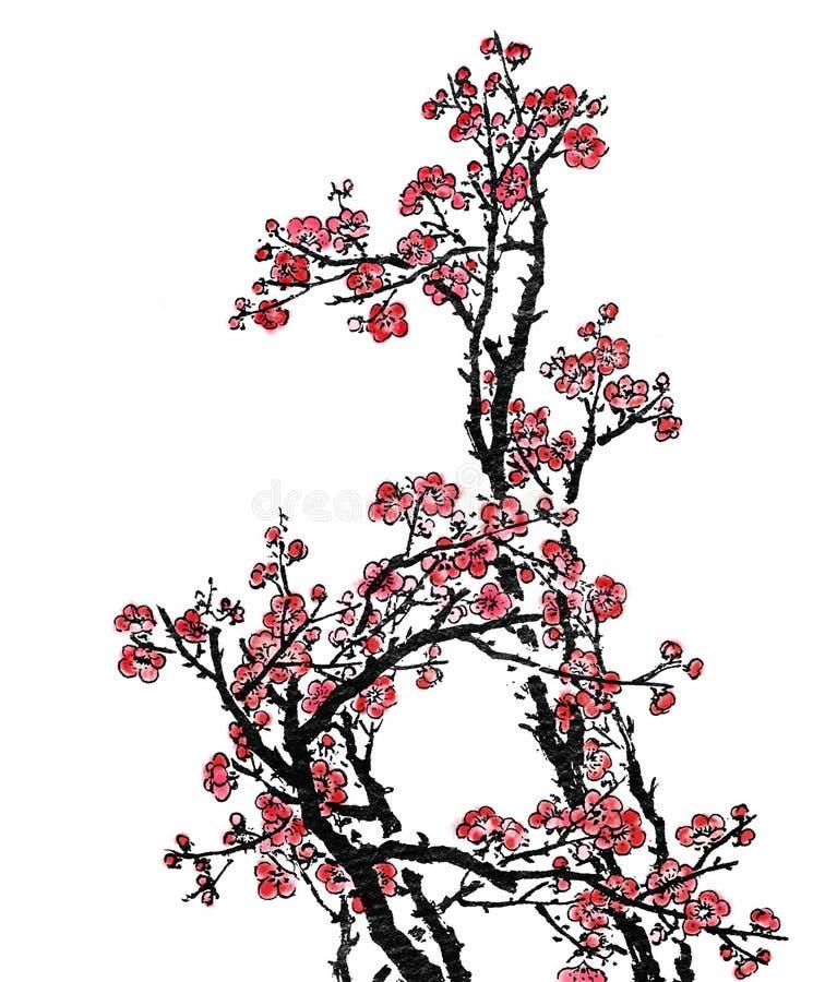 κινεζική ζωγραφική απεικόνιση αποθεμάτων