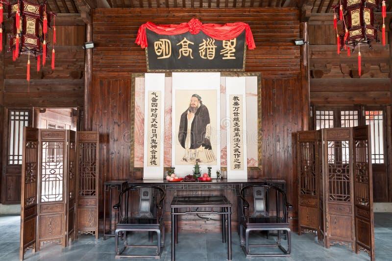 Κινεζική διακόσμηση καθιστικών στοκ εικόνα