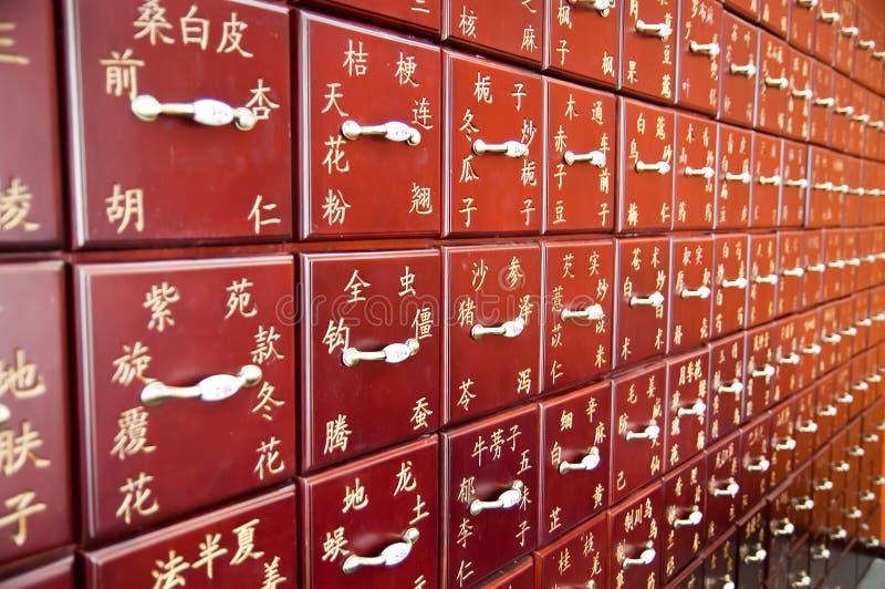 κινεζική ιατρική παραδοσ στοκ εικόνες