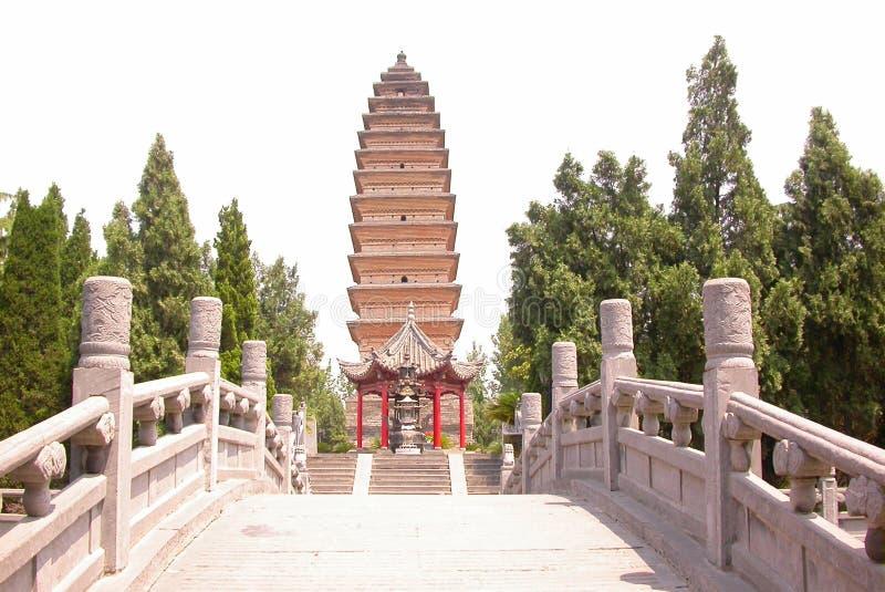 κινεζική παγόδα παραδοσ&io στοκ φωτογραφία με δικαίωμα ελεύθερης χρήσης