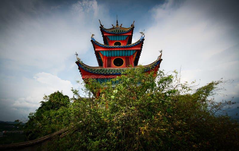 κινεζική παγόδα στοκ φωτογραφίες με δικαίωμα ελεύθερης χρήσης