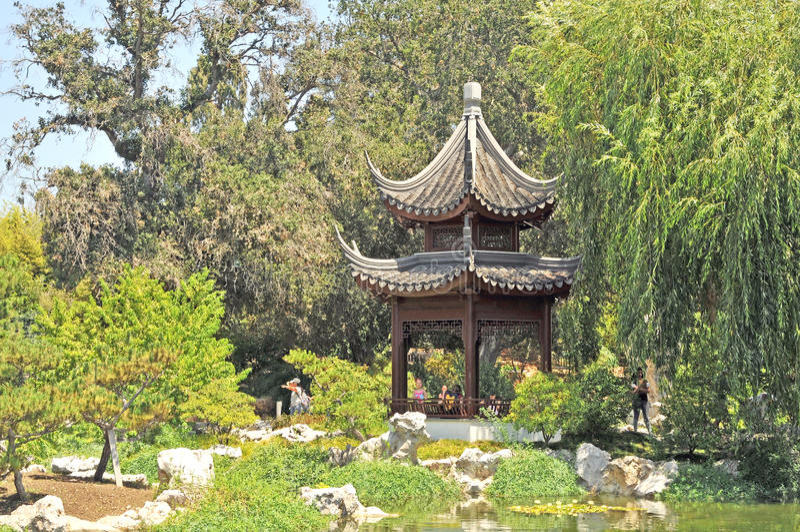 κινεζική παγόδα στοκ φωτογραφία με δικαίωμα ελεύθερης χρήσης