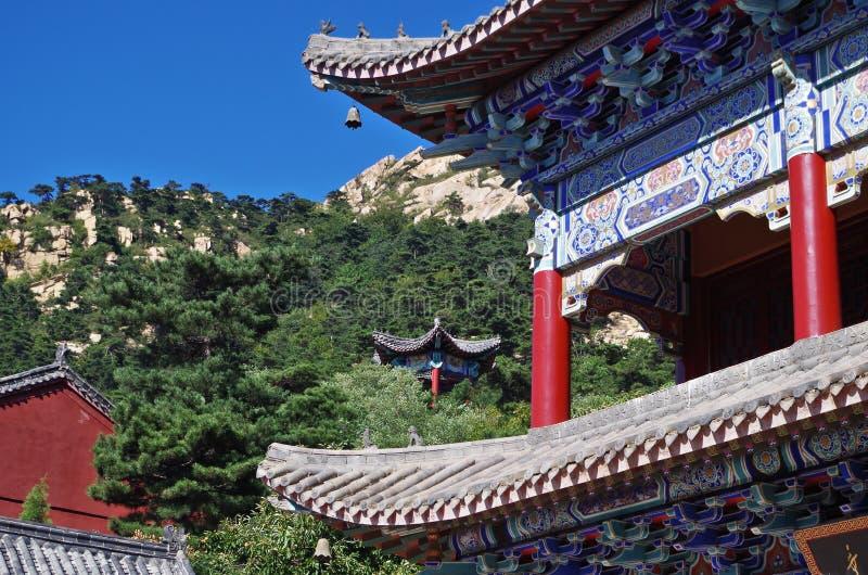 Κινεζική παραδοσιακή αρχιτεκτονική στοκ εικόνα με δικαίωμα ελεύθερης χρήσης