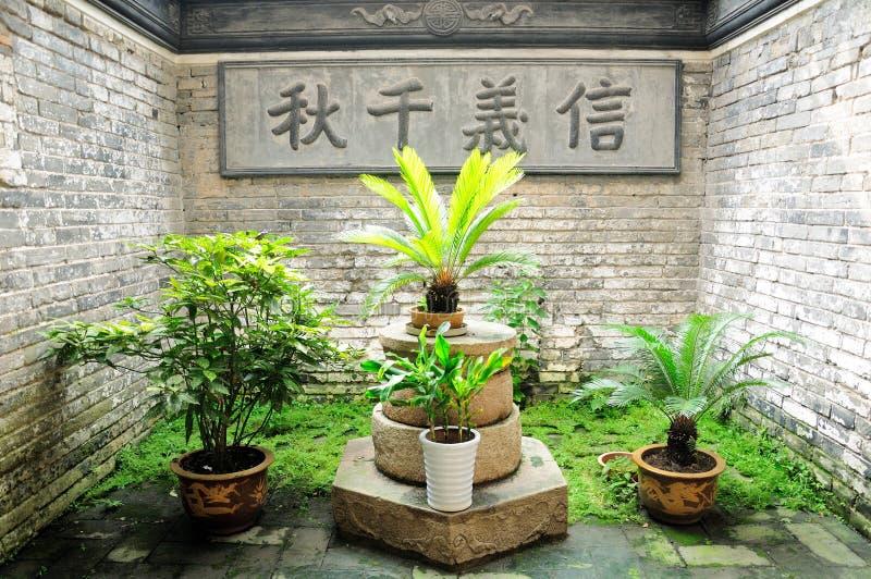Κινεζική παροιμία στοκ εικόνες