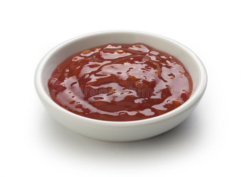 Κινεζική πικάντικη σάλτσα στοκ εικόνες