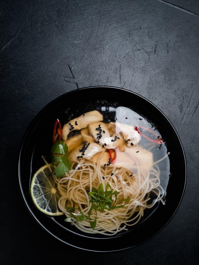 Κινεζική σούπα κρέατος νουντλς γεύματος τροφίμων εστιατορίων στοκ φωτογραφία με δικαίωμα ελεύθερης χρήσης