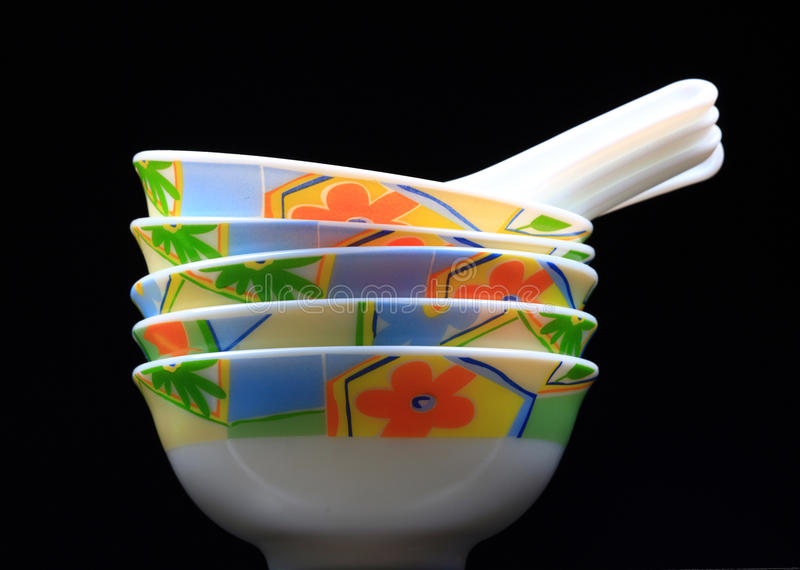 κινεζική σούπα κύπελλων στοκ εικόνα με δικαίωμα ελεύθερης χρήσης