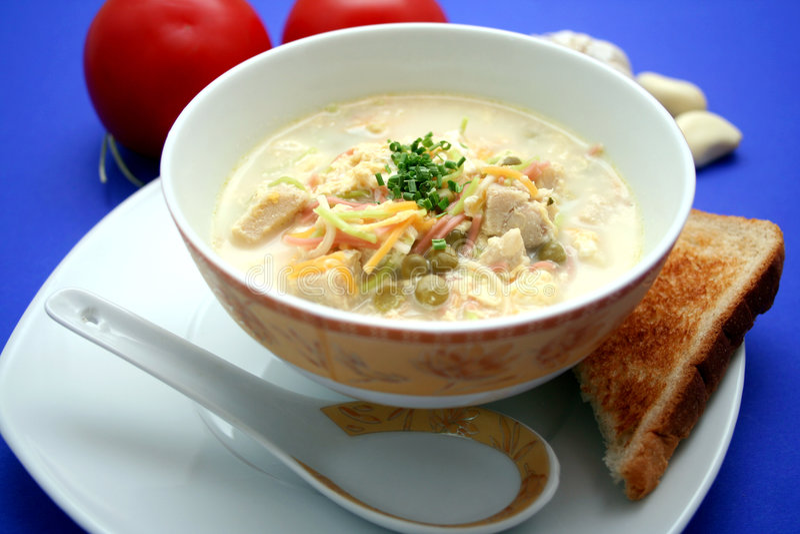 κινεζική σούπα στοκ εικόνες