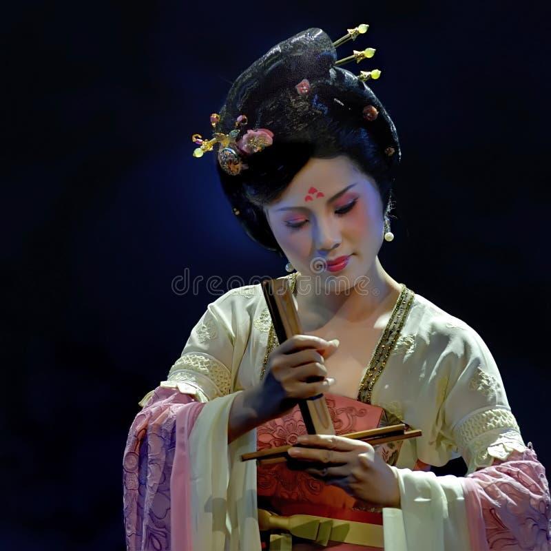 κινεζική φολκλορική μο&ups στοκ φωτογραφία με δικαίωμα ελεύθερης χρήσης