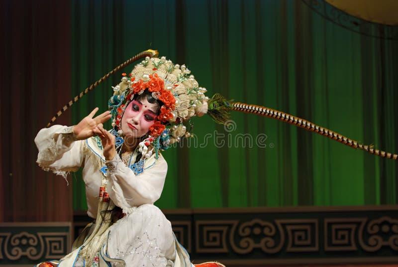 κινεζική όπερα ηθοποιών όμ&omic στοκ φωτογραφίες με δικαίωμα ελεύθερης χρήσης