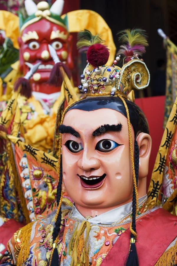 κινεζικοί Θεοί στοκ εικόνες