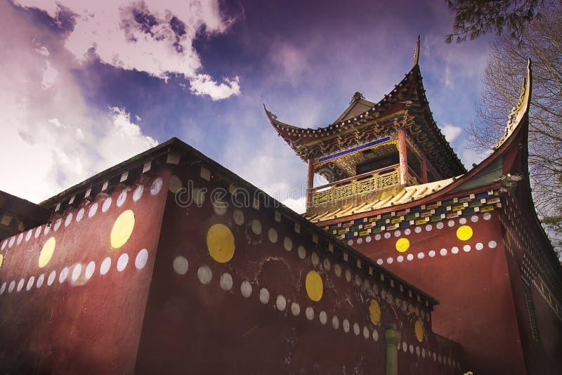κινεζικοί ναοί στοκ εικόνες