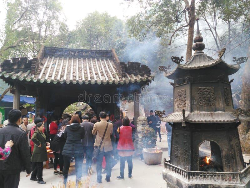 Κινεζικοί ναοί στοκ εικόνες με δικαίωμα ελεύθερης χρήσης
