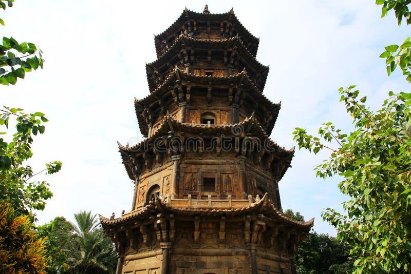 Κινεζικοί παραδοσιακοί βουδιστικοί ναοί, ναός Kaiyuan στοκ φωτογραφίες