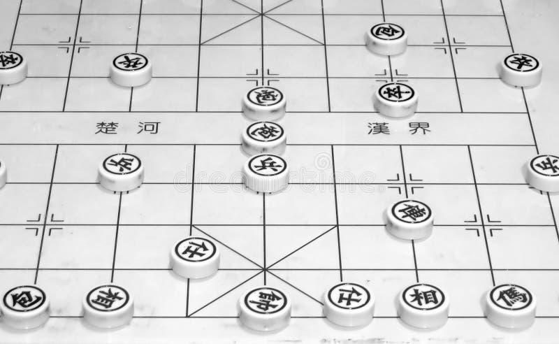 κινεζικός αγώνας χαρτονιών στοκ εικόνα