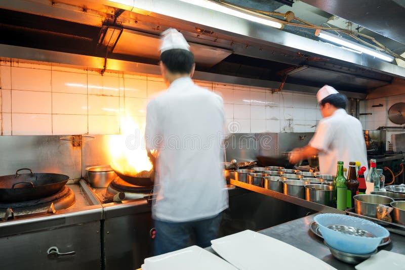 Κινεζικός αρχιμάγειρας στοκ φωτογραφία με δικαίωμα ελεύθερης χρήσης