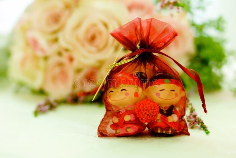 κινεζικός γάμος εύνοιας στοκ εικόνες
