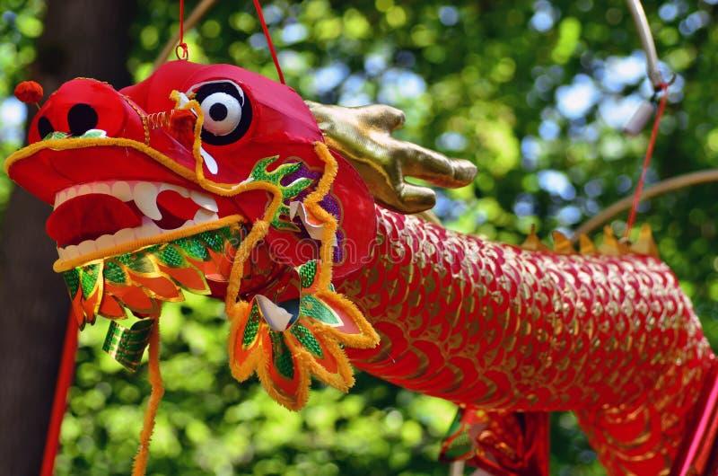 Κινεζικός δράκος για το κινεζικό νέο έτος στοκ φωτογραφίες