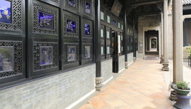 Κινεζικός διάδρομος traditonal στοκ φωτογραφίες με δικαίωμα ελεύθερης χρήσης