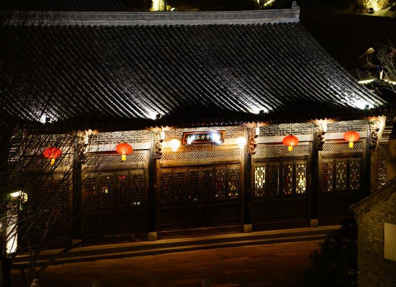 κινεζικός ιστορικός οικοδόμησης στοκ εικόνες με δικαίωμα ελεύθερης χρήσης