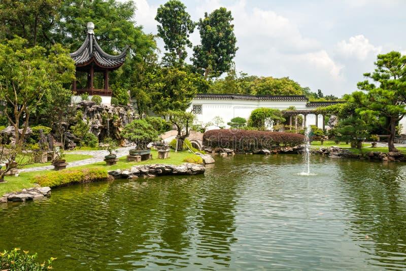 κινεζικός κήπος Σινγκαπούρη στοκ φωτογραφία με δικαίωμα ελεύθερης χρήσης